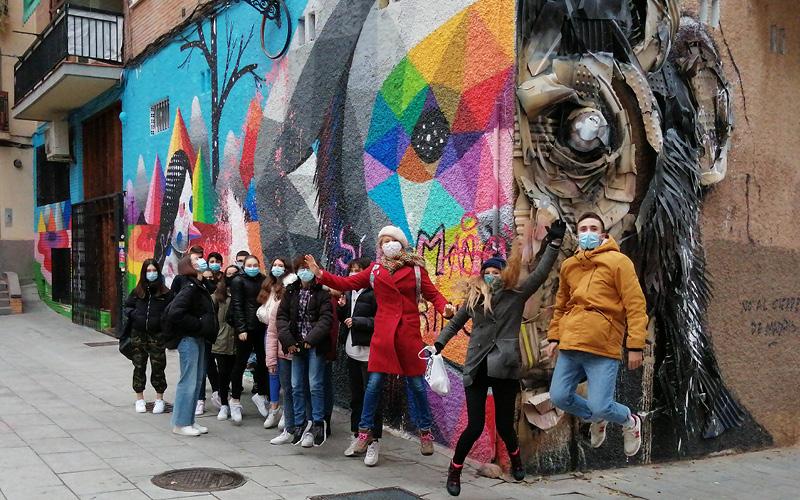 Street Art por el barrio de Lavapiés